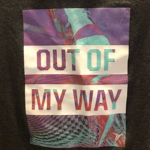"""Old Navy Shirts & Tops - Old Navy """"Out of My Way"""" T-shirt"""